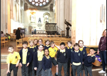 KS1 & EYFS visit St Alban's Cathedral, March 2019