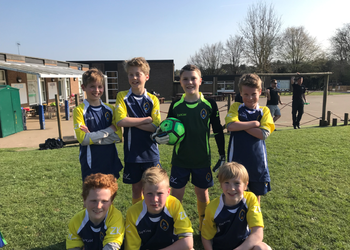 Football win for Year 5 & Year 6! April 2019