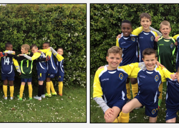 Football Win for Year 3 & Year 4 football team, May 2019