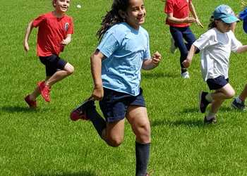 Year 6 organise Whole School Fun Run for Herts Refugees, May 2019