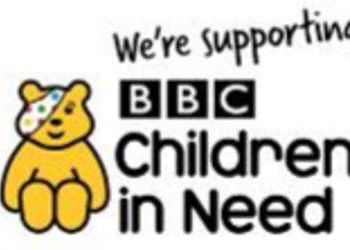 Thank you for your donations to Children in Need