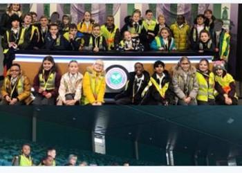 Year 5 Dahl Class visit Wimbledon