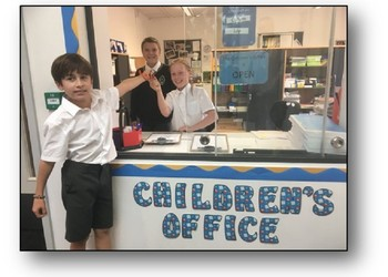 Children's School Office - Year 6 - now open for business