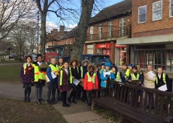 Year 6 local walk