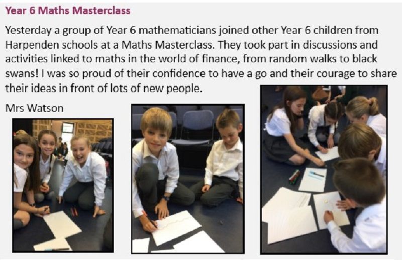 Year 6 maths mastery