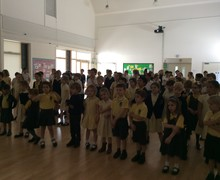 Singing assembly