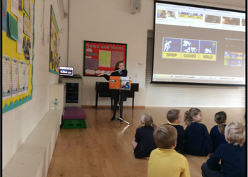 Monday Assembly - Sapphira impresses playing the flute